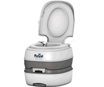 Review royal deluxe portable toilet 2010 camping world Deluxe portable bathrooms