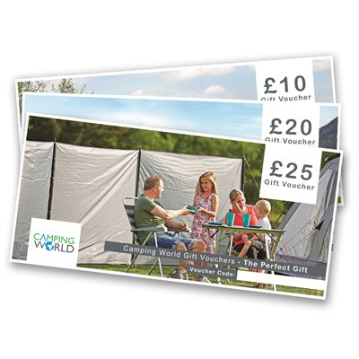 Camping World Gift Vouchers  - Click to view a larger image