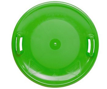 Hamax UFO Round Plastic Bin Lid Pan Style Sledge  - Click to view a larger image