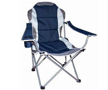 Quest Superlite Admiral Reclining Folding Chair   Click To View A Larger  Image