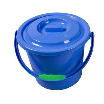 Kampa Bucket With Lid  - Click to view a larger image