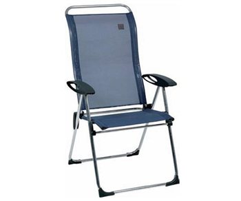 Lafuma cham elips chair ocean blue - Lafuma camping table ...