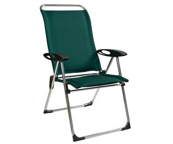 Lafuma cham elips padded chair england green - Lafuma camping table ...