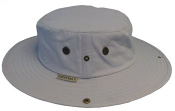 White Rock Classic Outback Hat GREY  - Click to view a larger image