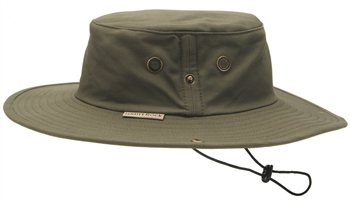 White Rock Classic Outback Hat OLIVE GREEN  - Click to view a larger image