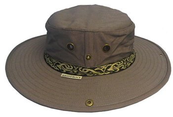 White Rock Classic Outback Hat with Band GREY
