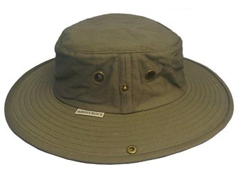White Rock Outback X-Lite Micro-Fibre Hat OLIVE  - Click to view a larger image