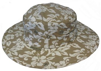 White Rock Outback X-Lite Hawaiian Hat BEIGE  - Click to view a larger image
