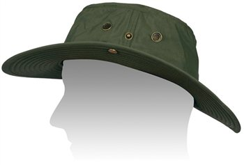 White Rock Outback Traveller Hat OLIVE  - Click to view a larger image