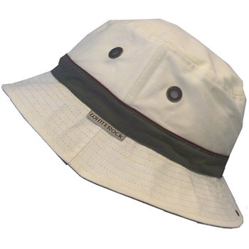 White Rock Oasis X-Lite Micro-Fibre Hat STONE  - Click to view a larger image