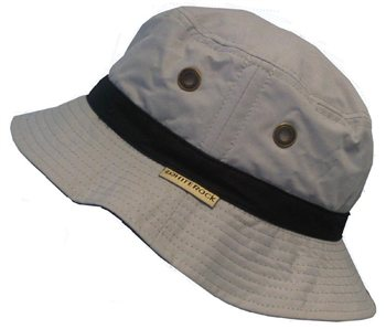 White Rock Oasis X-Lite Micro-Fibre Hat GREY  - Click to view a larger image