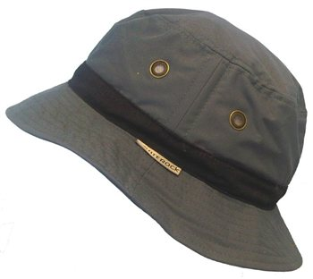 White Rock Oasis X-Lite Micro-Fibre Hat DARK GREY  - Click to view a larger image