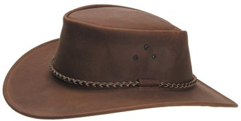 White Rock Crushable Bush Hat BROWN  - Click to view a larger image