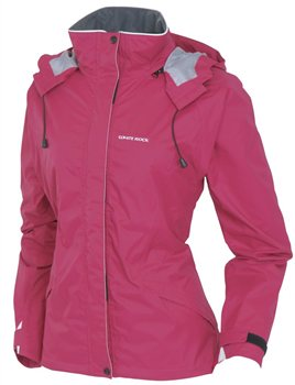 White Rock Squall Women's Fitted Jacket CHERRY PINK  - Click to view a larger image
