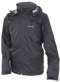 White Rock Hurricane Mens Jacket BLACK  - Click to view a larger image