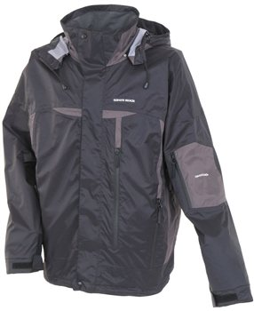 White Rock Typhoon Men's Jacket BLACK  - Click to view a larger image