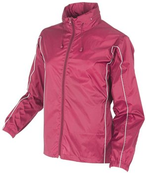 White Rock Cag In A Bag - Jacket CHERRY PINK  - Click to view a larger image