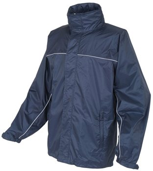 White Rock Men's Cag In A Bag Jacket NAVY  - Click to view a larger image