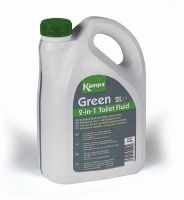 Kampa Dometic Green Dual Nature Biological Toilet Fluid 2019