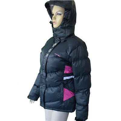 White Rock Chevron Womens Down Jacket  - Click to view a larger image