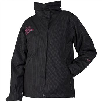 White Rock Pinstripe Ski Jacket