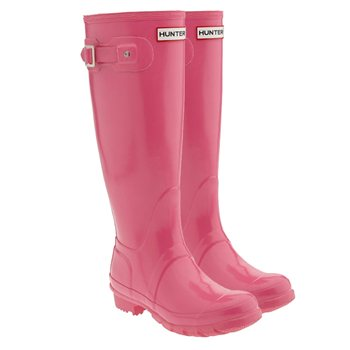 Hunter Original Wellington Boot - Fushcia Pink  - Click to view a larger image