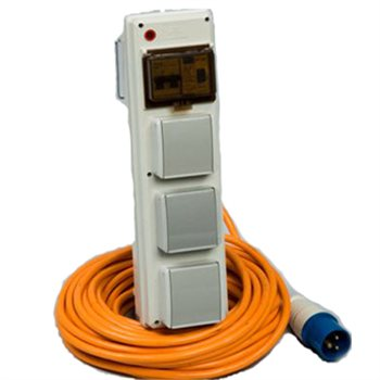 SunnCamp Deluxe Mobile mains power unit  - Click to view a larger image