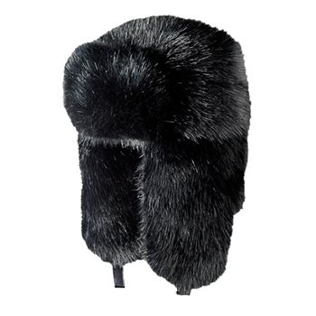 White Rock Full Fur Bomber Ski Hat  - Click to view a larger image