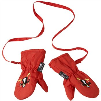 Manbi Snowflake Infant Ski Mitts  - Click to view a larger image