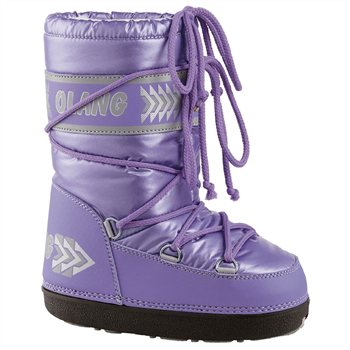 Olang Crystal Moon Boots Lilac   - Click to view a larger image
