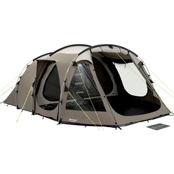 Rating ...  sc 1 st  C&ing World & Review Outwell Columbia River Tunnel Tent 2011 Comfort Collection ...