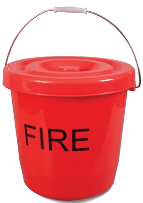 Kampa Fire Bucket With Lid  - Click to view a larger image
