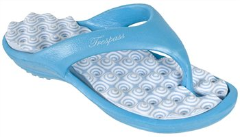 Trespass Karuna Flip Flops BLUE - Click to view a larger image