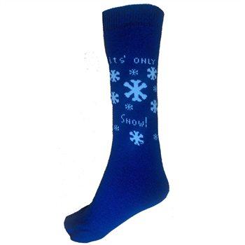 """Trespass Snowflakes 18"""" Ski Tube Sock"""