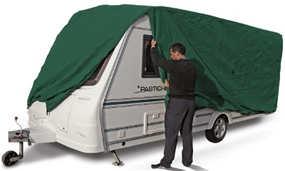 Kampa Prestige Ultimate 3 Layer Caravan Cover  - Click to view a larger image