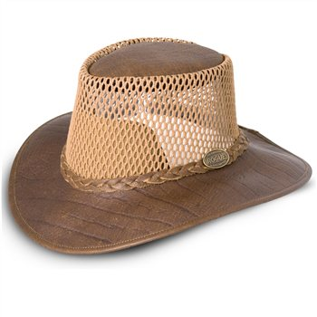 Rogue Breezy Buffalo Leather Hat 502B  - Click to view a larger image