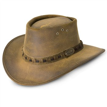 Rogue One Ten Old Suede Leather Hat 110P  - Click to view a larger image