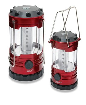 Gelert 12 LED + 18 LED Family Lantern Set   - Click to view a larger image