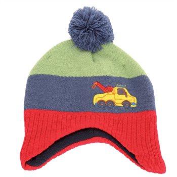Otterdene Toddlers Truck Knitted Hat