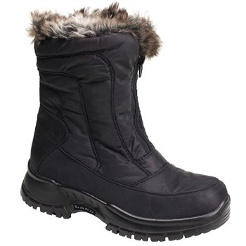 Excellent Calzat Women39s Fur Trim Traction Boot  Outdoor Adventure Store