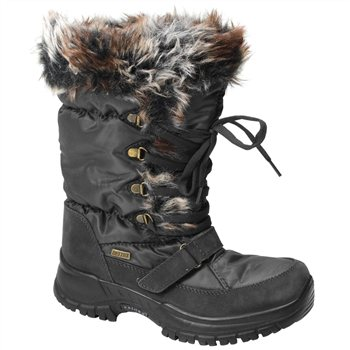 White Rock Crystal Waterproof Snow Boots  - Click to view a larger image