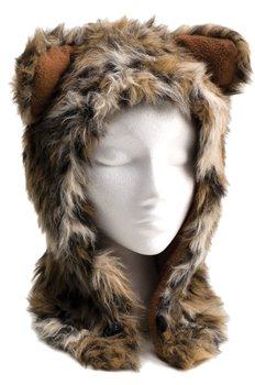 White Rock Beasty Furry Animal Hat