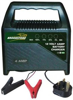 Image of Brookstone Compact Battery Charger