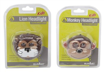 Summit Kids Animal LED Headlights with Batteries  - Click to view a larger image