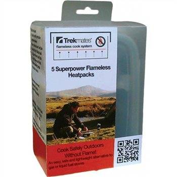 Trekmates Flameless Super Power Heat Pack  - Click to view a larger image
