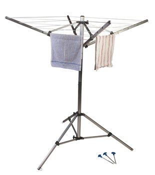Kampa Rotary Airer Washing Line  - Click to view a larger image