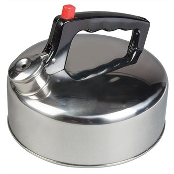 Kampa Sukey Stainless Steel Whistling Kettle  - Click to view a larger image