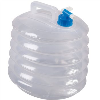 Kampa Aqua 10 Litre Concertina Water Carrier  - Click to view a larger image