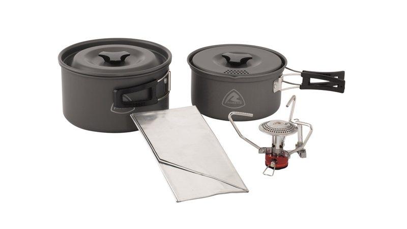 Zestaw do gotowania garnki + kuchenka Fire Ant Cook System
