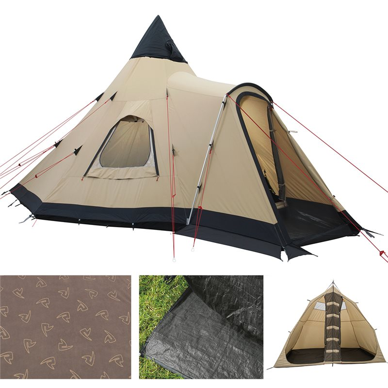 Robens Kiowa Tipi Outback Tent Package Deal 2021 1
